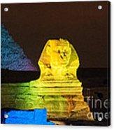 Pyramids Of Giza Acrylic Print