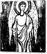 Raphael Archangel Acrylic Print