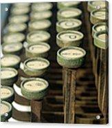 Remington 11 Detail Acrylic Print