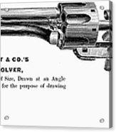 Revolver, 19th Century Acrylic Print