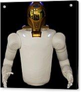 Robonaut 2, A Dexterous, Humanoid Acrylic Print by Stocktrek Images