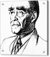 Rudyard Kipling (1865-1936) Acrylic Print
