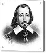 Samuel De Champlain Acrylic Print
