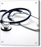 Stethoscope Acrylic Print by Photo Researchers, Inc.
