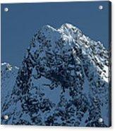 Tatra Mountains Winter Scenery Acrylic Print