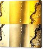 The Drops Acrylic Print by Odon Czintos