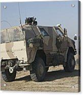 The German Army Atf Dingo Armored Acrylic Print