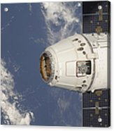 The Spacex Dragon Commercial Cargo Acrylic Print