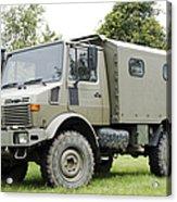 Unimog Truck Of The Belgian Army Acrylic Print