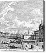 Venice: Grand Canal, 1742 Acrylic Print