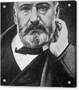 Victor Hugo, French Author Acrylic Print by Photo Researchers