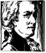Wolfgang Amadeus Mozart Acrylic Print