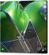 40 Ford - Grill Angle-8659 Acrylic Print