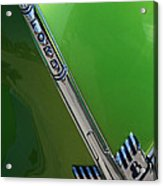40 Ford - Grill Detail-8610 Acrylic Print