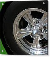 40 Ford-driver Rear Wheel 2-8577 Acrylic Print