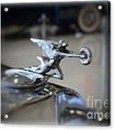 41 Packard Hood Ornament Acrylic Print
