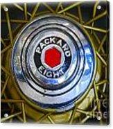 41 Packard Wheel Acrylic Print
