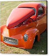 41 Willys Coupe Acrylic Print