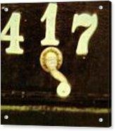 417 With A Twist Acrylic Print
