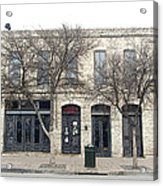 422 E 6th St Austin Texas Acrylic Print by James Granberry