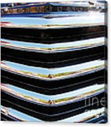 48 Chevy Convertible Grill Acrylic Print
