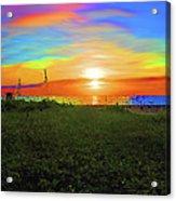 49- Electric Sunrise Acrylic Print