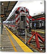 4th And King St. Caltrains Station - San Francisco Acrylic Print