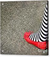 4th July Foot Acrylic Print