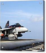 An Fa-18e Super Hornet Launches Acrylic Print