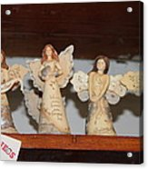 5 Angels Acrylic Print