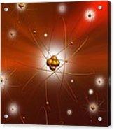 Atomic Structure, Artwork Acrylic Print