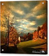 Autumn In South Tyrol Acrylic Print