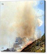 Barnett Fire Acrylic Print
