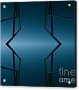 Blue Lake Acrylic Print by Odon Czintos