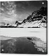 Bow Lake Acrylic Print