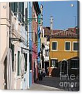 Burano Island. Venice Acrylic Print