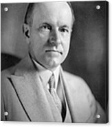 Calvin Coolidge (1872-1933) Acrylic Print