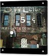 5 Cent Market Acrylic Print