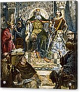 Charlemagne (742-814) Acrylic Print