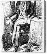 Charles Dickens, English Author Acrylic Print