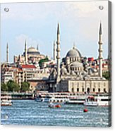 City Of Istanbul Acrylic Print
