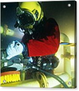 Commercial Diver Acrylic Print