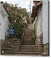 Cusco Peru Street Scenes Acrylic Print