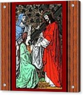 Drumul Crucii - Stations Of The Cross  Acrylic Print