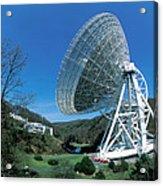 Effelsberg Radio Telescope Acrylic Print