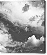 English Summer Sky Acrylic Print