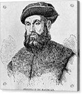 Ferdinand Magellan Acrylic Print