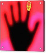 Fingerprint Scanning Acrylic Print