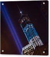 Ground Zero Freedom Tower Acrylic Print