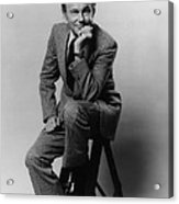 Jack Paar 1918-2004, American Acrylic Print